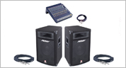 Sound Equipment Hire Edinburgh kit 1